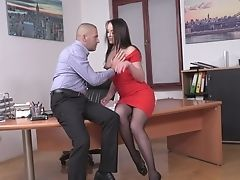 Sweet Office Xxx Ass-fuck With Carolina June