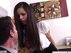 Horny Manager Fucks Big Tits And Humid Cunt Of Whorish Assistant Yurizan Beltran