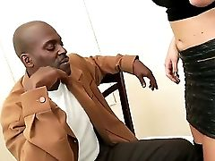 Big-titted Blonde Assistant Alexis Ford Dresses In Front Of Her Manager Lexington Steele