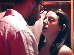 Seth Gamble Fucks Lewd Mummy With King Size Natural Tits Angela Milky