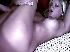 Dirty Super-bitch, Phyllisha Anne, Gets Pounded Hard And Creampied By A Strong Customer