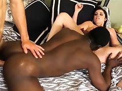Bisexual Big Black Cock Having A Trio - Homemade