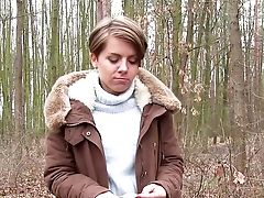 Outdoor Fuck-fest In The Forest With Sasha Zima For Cash