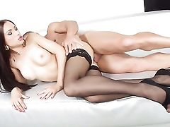 Black-haired With Giant Titties Luvs Dudes Thick Rock Solid Beef Whistle In Her Sweet Mouth