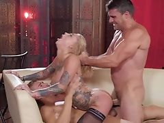 Fantasy Display Of Bonnie Rotten Being Hard Fucked By Two