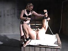 Jaw-dropping Models Love Playing In The Domination & Submission Romp Dungeon Space. Hd Vid