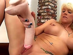 Big-boobed Blonde Sweetie Heidi Mayne Loves Ravaging Her Cock-squeezing Cunt With Her Yam-sized Fake Penises In Amazing Solo