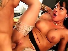 Alan Satfford Gets To Deep Penetrate Hot Black-haired Mahina Zaltana Deep In Her Cunt