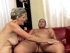 Matures Madame Aliz Has Very Sexy Youthfull Neighbor Who Always Ogles Him. The Man Comes To Her Place And They Have Superb Hump With Fantastic Fellati