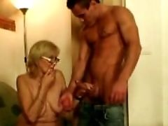 Horny Mom In Law Getting Boned