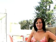 Interview With A Horny And Sexy Brown-haired Mummy Whose Name Is Valerie Luxe