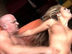 Blonde Witnesses As A Hard Big Pipe Penetrates Her Raw Cootchie And Rump And Afterward Cums On Her Face