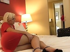 The Blonde Eyed Big Black Cock And Dreamed To Attempt It