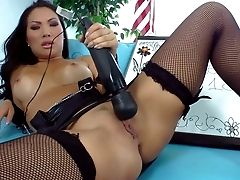 Asian Pornography Queen Asa Akira In Sexy Tanlined Tits Gives