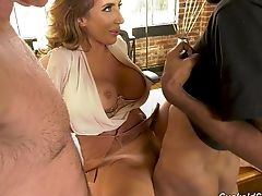 Old Timer Gets Cucked By Fucking Hot And Insatiable Wifey Richelle Ryan