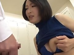 Sucking Dicks In The Locker Room Is Eri's Most Fave Activity