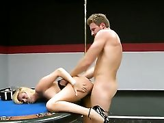 Blonde Harlot Dallas Diamondz Cant Live A Day Sans Getting Her Mouth Fucked By Horny Dude Levi Cash