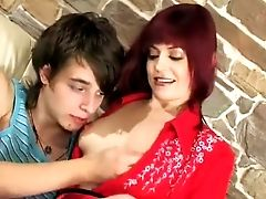 Matures Afina Fucks And A Youthful Stud