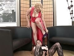 Sexually Compulsive Girl-on-girl Ally Style Is Frolicking And Eating Jiggly Puss