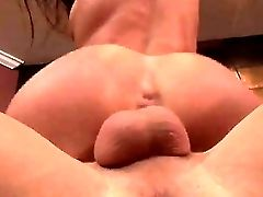 Rod Greedy Experienced Brown-haired Whore Naomi Russell With Natural Boobies And Intense Make Up In Fishnet Stockings Has Orgasmic Practice During Rou