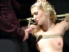 Linda Ray Is A Lovely Blonde-haired Servant Chick With Sexy