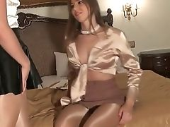 Sexy Stunners Display Off In So Sexy Suntan Stocking