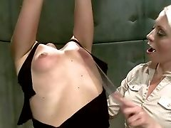 Tied Ball Ball-gagged Red-haired Josi Valentine Gets Tantalized By Masochistic