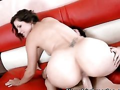 Dark Haired Bobbi Starr With Fleshy Butt Gets Pumped In Her Muff Pie By James Deen