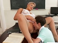Severe Tutor Ryan Keely Revved To Be Very Hot And Insatiable Cougar