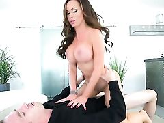 Danny D Gets Pleasure From Fucking Dark Haired Nikki Benz In Her Fuck Hole