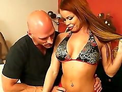 Buxomy Honey Nikki Delano Gets Hard Fucked In The Twat By Horny Johnny Sins