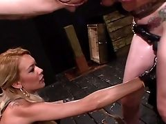 Domination & Submission Threesome With Horny Lezzies