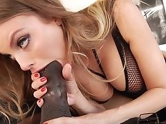 Black Fuckpole Down For Insolent Britney Amber