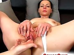 Czech Matures Renate Gets Horny During Vulva Fingerblasting