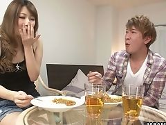 Slender Titless Japanese Whore Keiko Shinohara Gets Hairy Cunt Gobbled In Sixty-nine