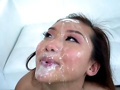 Massive Facial Cumshot To End Babe's Filthy Fuck Venture