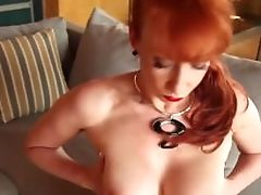 Hot Huge-boobed Matures Masturbates Outside