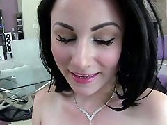 Veruca James Is A Black Haired Lovely Porno Diva With