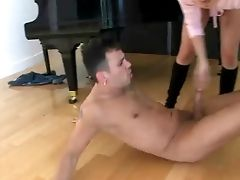 Fully Nude Big Dicked Boy Voodoo Gets Predominated By Two
