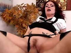 Sexy Curly Haired Red-haired Andy San Dimas Is A Bad