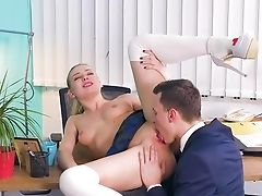 Nubile On Fire Attempts Strenuous Fucking With Her Educator